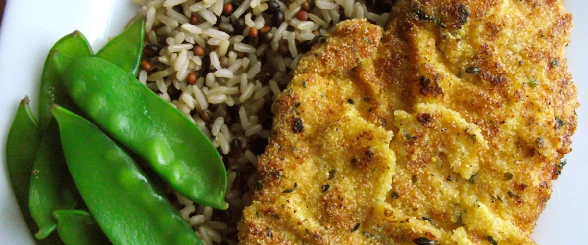 Dijon and Breadcrumb Crusted Chicken Breasts