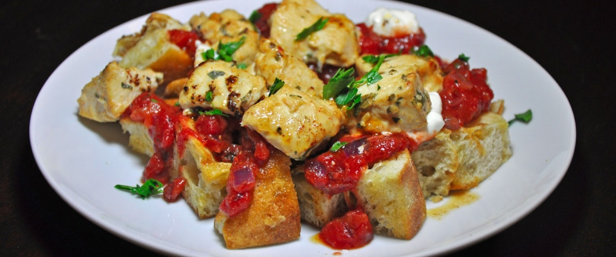 Turkish Chicken Yogurtlu Kebobs