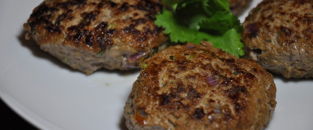 Cumin-Coriander Beef Patties