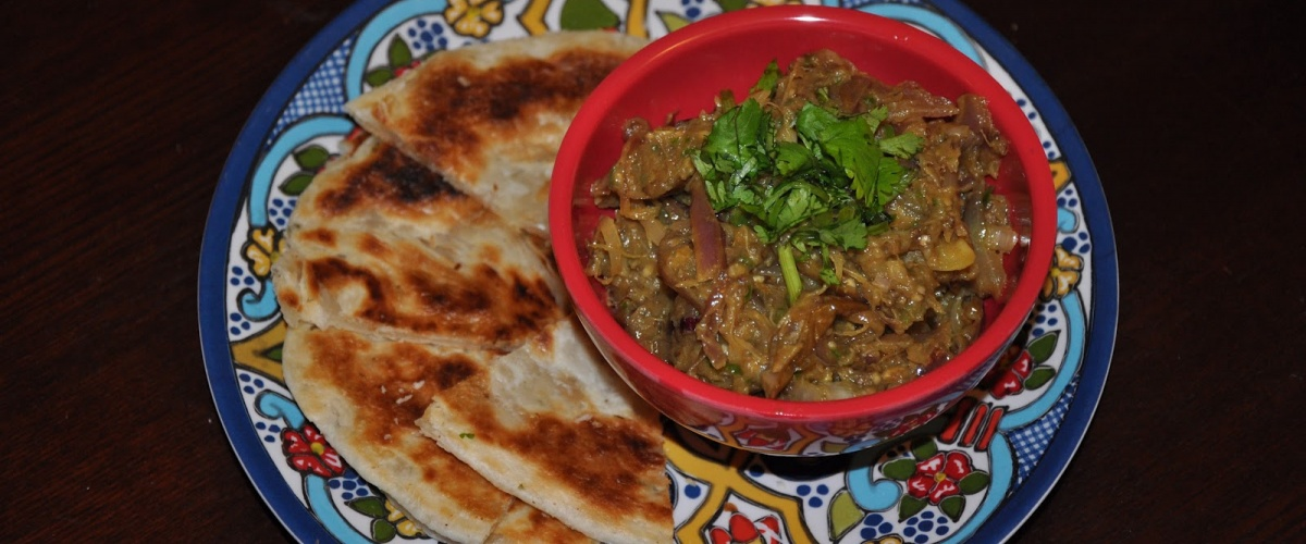 Andhra Spiced Eggplant