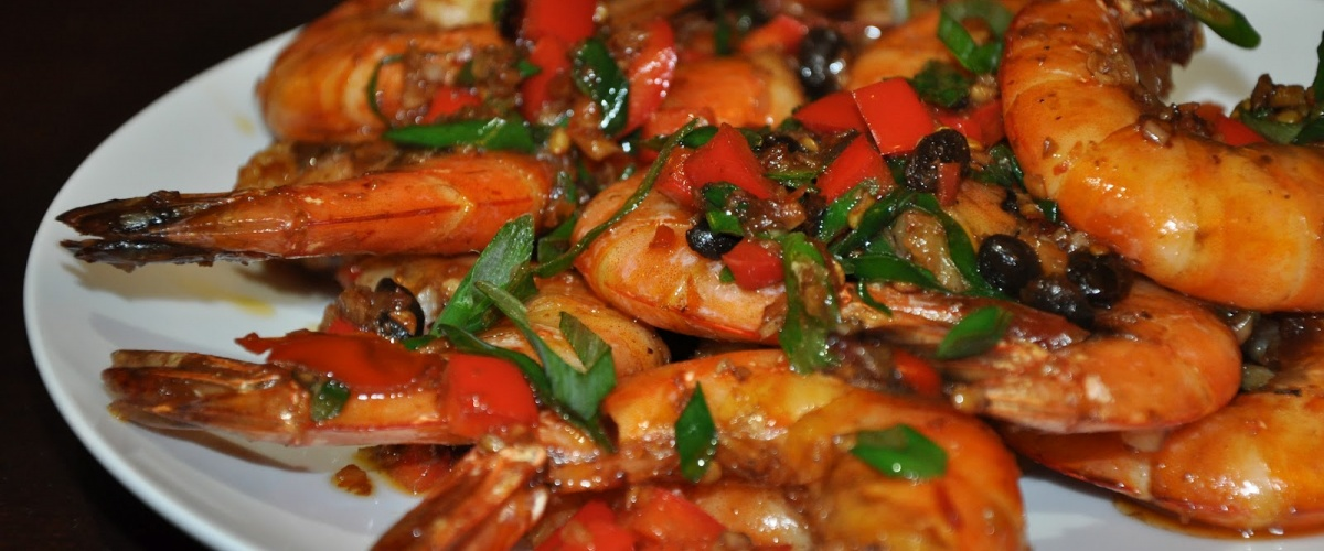 Fragrant-and-Hot Numbing Tiger Prawns (Xiang La Xia)
