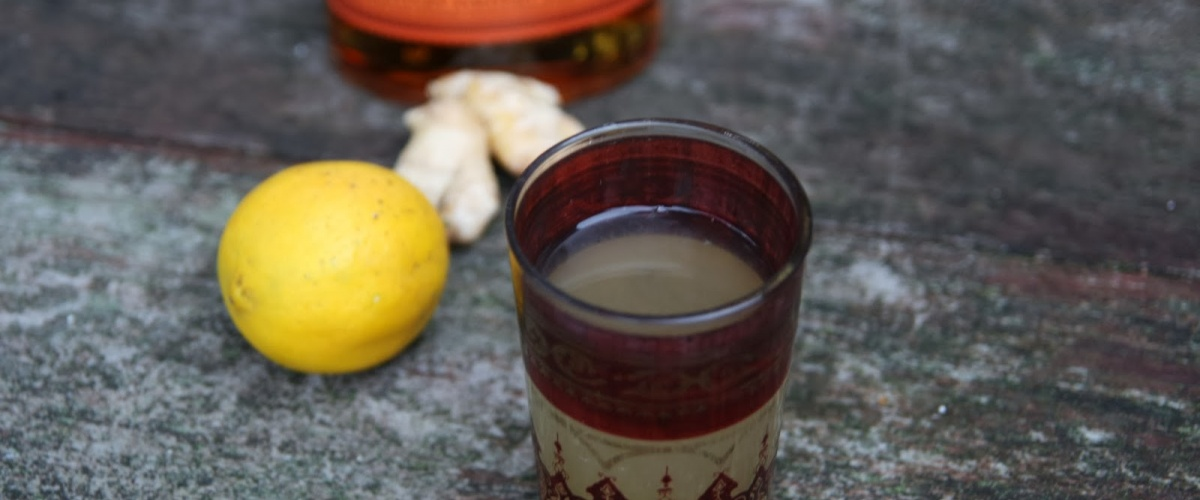 Citrus and Ginger Hot Toddy