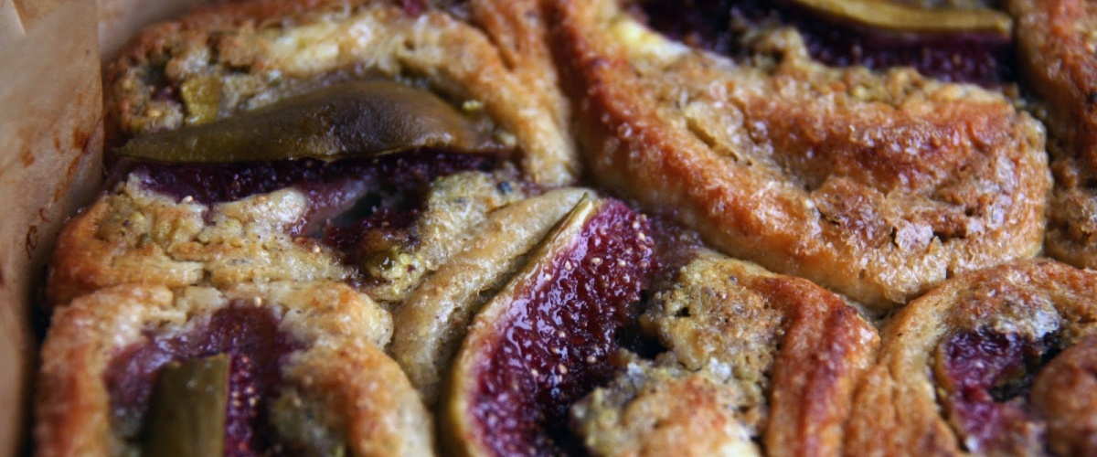 Fig, Pistachio and Goat Cheese Danish