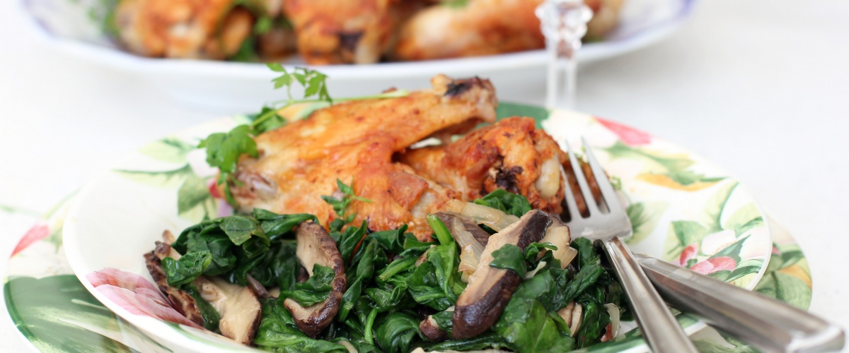Butter Roasted Chicken Elbows