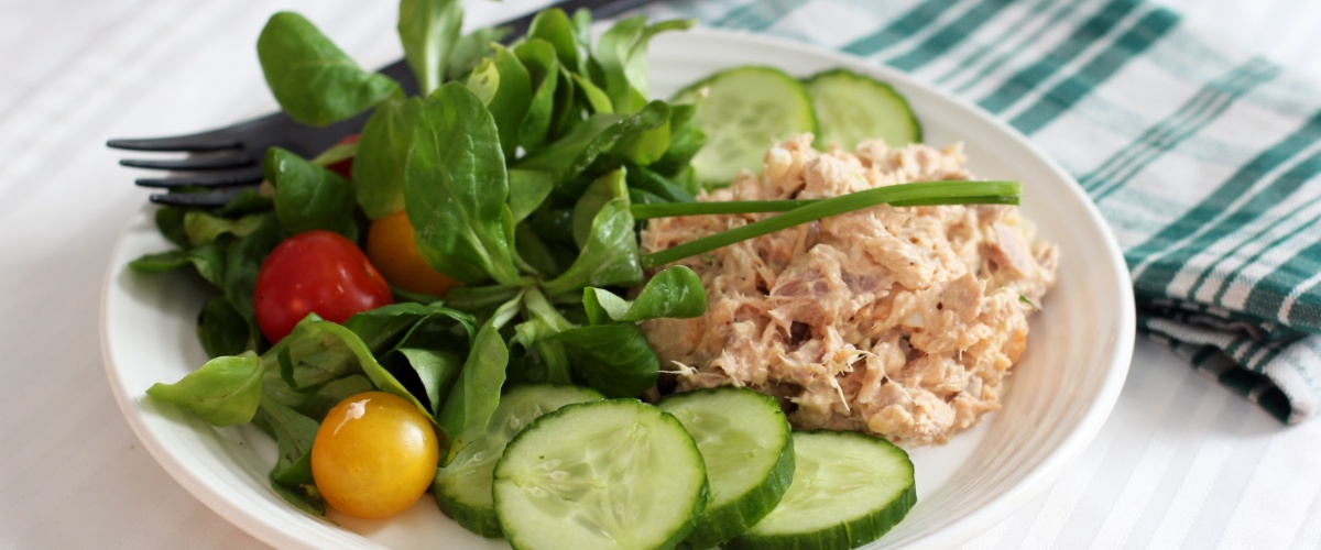 Tuna and Salmon Salad